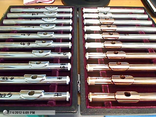 Dagan flutes collection