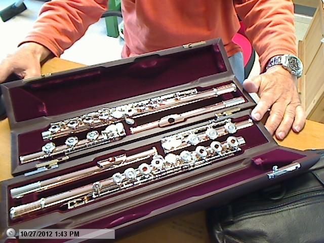muramatsu handmade flutes